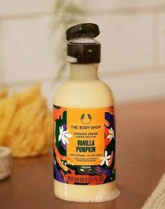 🤍 The Body Shop 🧡 Vanilla Pumpkin 🎃🧡 Shower Cream / Gel 🤍 250 ml 🤍