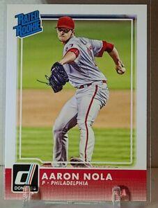 2016 Panini-Donruss Baseball Rated Rookie Aaron Nola