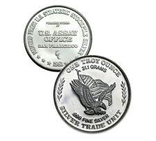 One 1oz U.S Assay Silver Round from 1981 (usa1z)