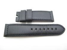 Panerai Luminor BLACK OEM calfskin strap 24mm / 22mm REGULAR size 115/75 TANG