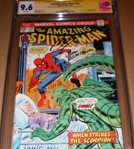 Amazing Spider-Man #146 CGC SS 9.6 SIGNED John Romita Conway Gwen Stacy clone