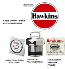 Hawkins Cooker Genuine Spare Parts Gasket Whistle Safety Valve For 1.5 to 5 Ltr