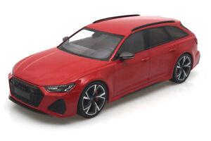 Audi RS Avant 2019 Red metallic Ltd. 300pcs 155018010 Minichamps 1:18