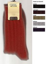 RUSTIKAL/SPORTLICH  1 Paar Socken, Rippenstrick 43-46, div.Fb. *camel active*