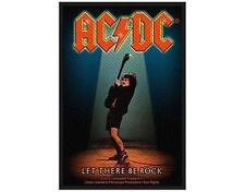 OFFICIAL LICENSED - AC/DC - LET THERE BE ROCK WOVEN SEW-ON PATCH ROCK ANGUS