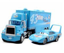 Disney  King Pixar Cars 43 HAULER DINOCO Mack Super Liner Truck Diecast Toy gift