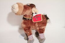 Swifty #8536 Applause Race Horse Plush Toy Doll Giordano Art 1981 Vintage NEW