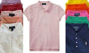 Girls Ex Ralph Lauren Polo T Shirt short sleeve top 2 3 4 5 6 7 8 20 12 14 16