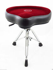 Roc-N-Soc NROR Nitro Drum Throne w/ Saddle Seat, Red