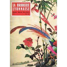 La BRODERIE LYONNAISE 78 modèles Couronne Alphabet et Monogramme 1967 Hors-Série