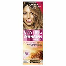 L`Oreal Casting Sunkiss Tropical 125ml Brunette Hair Gradual Lighting Spray