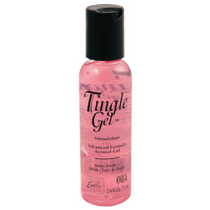Tingle Gel💕Intensifying Clitoral Oral Edible Arousal Orgasm Enhancing Lubricant