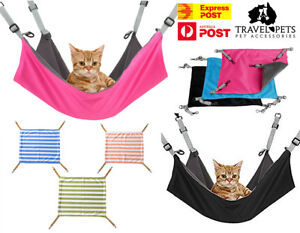 Cat Hammock Bed Swing Comfy Dog Pet Cats Hanging Cradle Fun Pets Furniture Beds