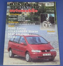 Revue technique  RTA 599 Ford galaxy volkswagen sharan seat alhambra diesel