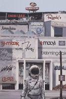 "Scott Listfield Mega Mall print x/50 20""x30"" Earth Astronaut Apocalypse"