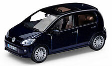 NEW GENUINE VW UP 4 DOOR NIGHT BLUE METALLIC 1:43 SCALE DIECAST MODEL CAR