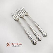 Rondo Cocktail Forks Set Gorham Sterling Silver 1951