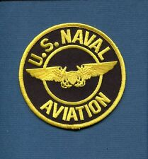 US NAVY NFO NAVAL FLIGHT OFFICER WING NAVAL AVIATION Squadron Jacket Patch