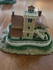 Danbury Mint East Brother Light Station Lighthouse Historic American Lighthouses