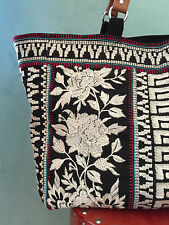 NWT Johnny Was LAST ONE Large Embroidered TOTE BAG Shoulder HANDBAG GoRgEoUs