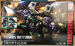 Brand New Hasbro Transformers Generations Titans Return Titan Class Trypticon