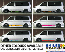 VW Volkswagen Transporter stripes stickers graphics Customise your own ON OFFER