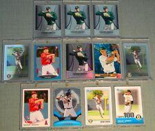 12ct. GRANT GREEN (RC's) 2010 BOWMAN CHROME & PLATINUM REFRACTOR > 2 SERIAL #'d
