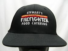 STEWART'S FIREFIGHTER FOOD CATERING - ADJUSTABLE SNAPBACK BALL CAP HAT