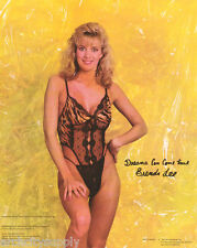 SMALL POSTER:  BRENDA LEE - SEXY FEMALE MODEL  - FREE SHIPPING  #30-212   LW12 P