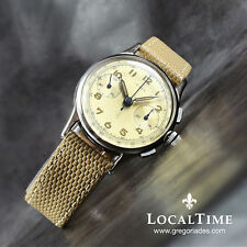 40's FREY & Co. SA Swiss [by Minerva] Vintage Chronograph Watch Landeron Cal. 48