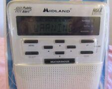 "MIDLAND WR-100 NOAA "" ALL HAZARDS WEATHER PUBLIC ALERT RADIO STORM WARNING"" NEW"
