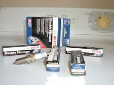 Set of 4 Bosch Double Platinum 8122 Car Truck Auto Spark Plugs FR7MPP33X Various
