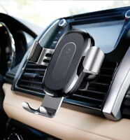 QI wireless Car Air Vent Gravity Cell Phone Holder Mount Stand Cradle GPS PDA