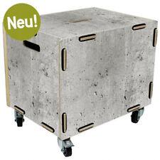 WERKHAUS Rollbox Beton Neu Box Kiste Aufbewahrungsbox #2158