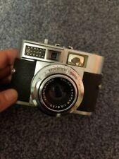 Vintage Voigtlander Vitomatic Ii 35mm Film Camera w/ case