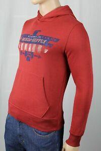 Denim & Supply Ralph Lauren Red Eagle Hoodie Sweatshirt NWT