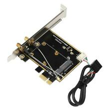 High Quality Mini PCI-E to PCI-E WiFi Bluetooth Adapter Network Card Adapter HPT