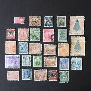 Vintage COLOMBIA Postage Stamps - South America Mixed Bundle 721