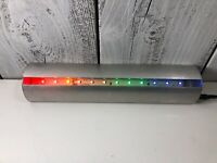 Unbranded LED Light Stand Color Rainbow Metal Bar  Protected 12' Long Good Shape