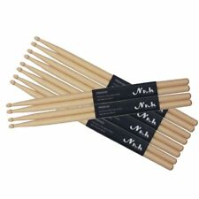 "Drum Sticks 5A 16"" Drumsticks Maple High Quality Wood Premium Percussion Feel UK"