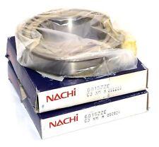 2 NEW NACHI 6015ZZE SHIELDED BEARINGS