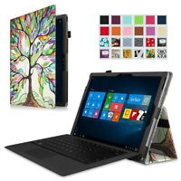 Folio Stand Cover Case for Microsoft Surface Pro 6 2018 / Surface Pro 5 2017