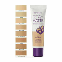Rimmel Stay Matte Liquid Mousse Foundation 30ml