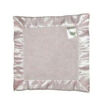 Katie Little Kidsline Solid Light Pink Square Security Blanket Lovey Satin Trim