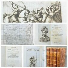 Libro Illustrato Storia dei Tartari Giuseppe Belloni Storia Conte di Segur 1825