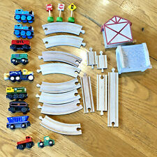 Thomas Tank Engine Lot -track, buildings, engines, signs, cars, trucks 28 pieces