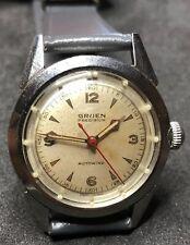Gruen Autowind Watch Vintage 17J Swiss Mechanical Wristwatch Automatic Stainless