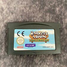 Harvest Moon amigos de Mineral Town Nintendo Game Boy Advance GBA Carro Genuino
