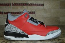 CLEAN Nike Air Jordan Retro 3 Unite Fire Red Cement CK5692-600 Size 11.5