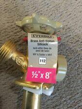 Everbilt  1/2 in. x 8 in. Brass MIP & Solder x MHT Anti-Siphon Sillcock